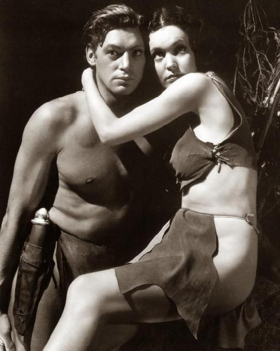 Johnny Weissmüller and Maureen O'Sullivan
