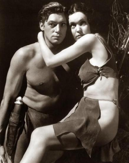 Johnny Weissmüller and Maureen O'Sullivan