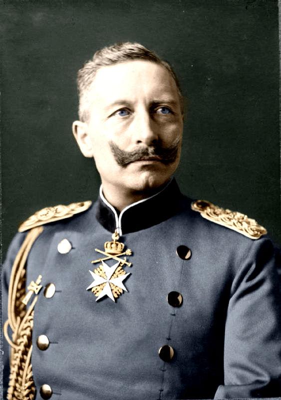 Kaiser Wilhelm II Tinting History