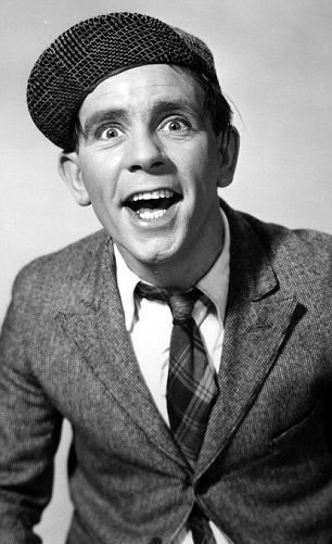 Norman Wisdom as 'Pitkin' in the 1955 film One Good Turn