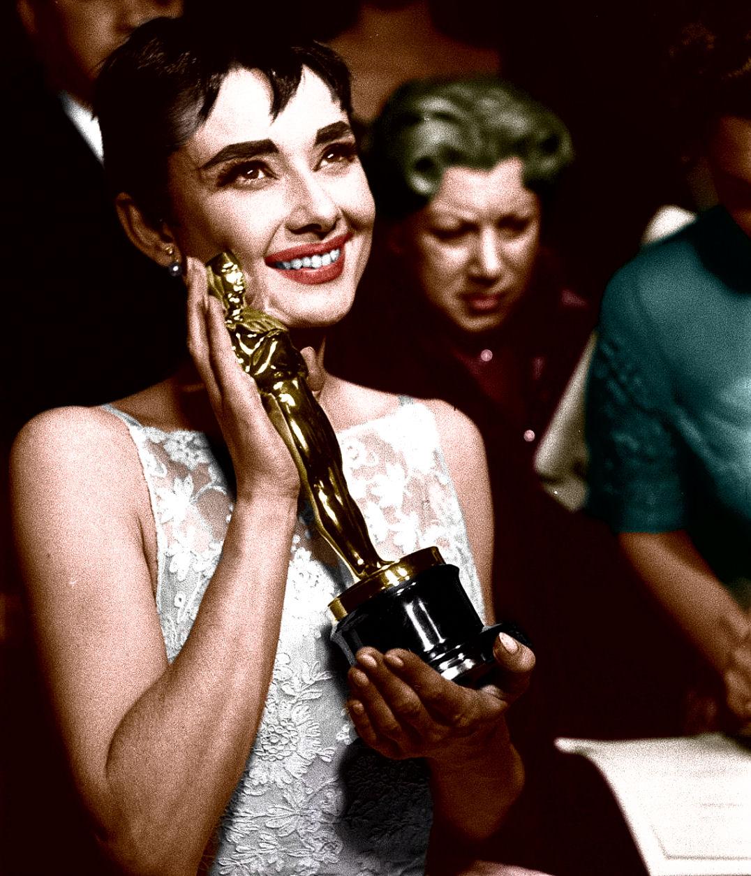 Audrey Hepburn best actress  1953  Roman Holiday