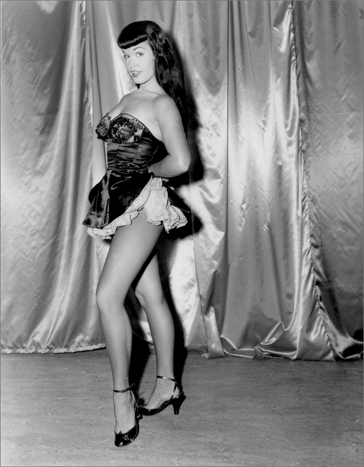 Betty Page Photos: Tinting History