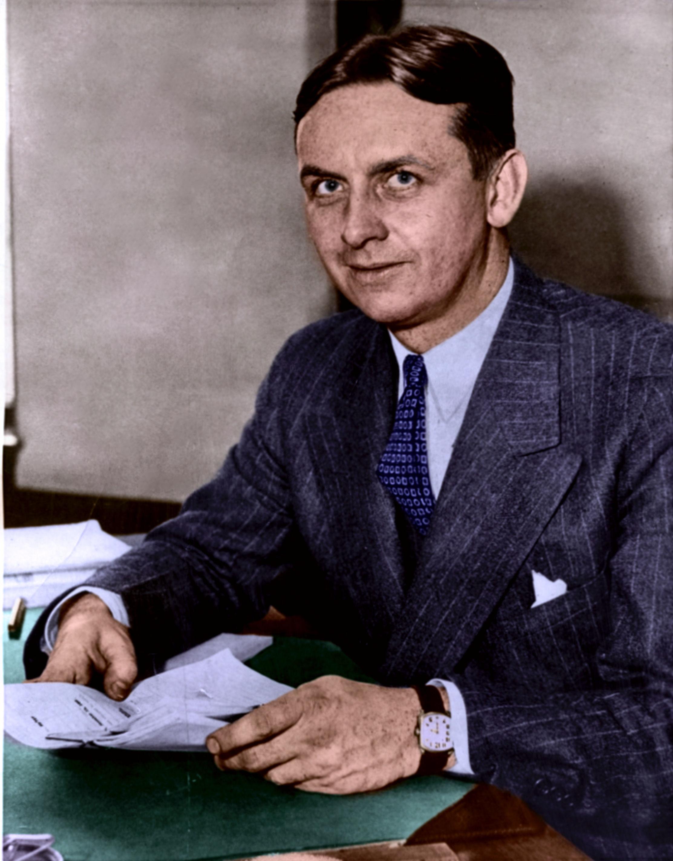 Eliot Ness November 17 1937