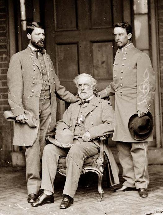 Robert E Lee and son