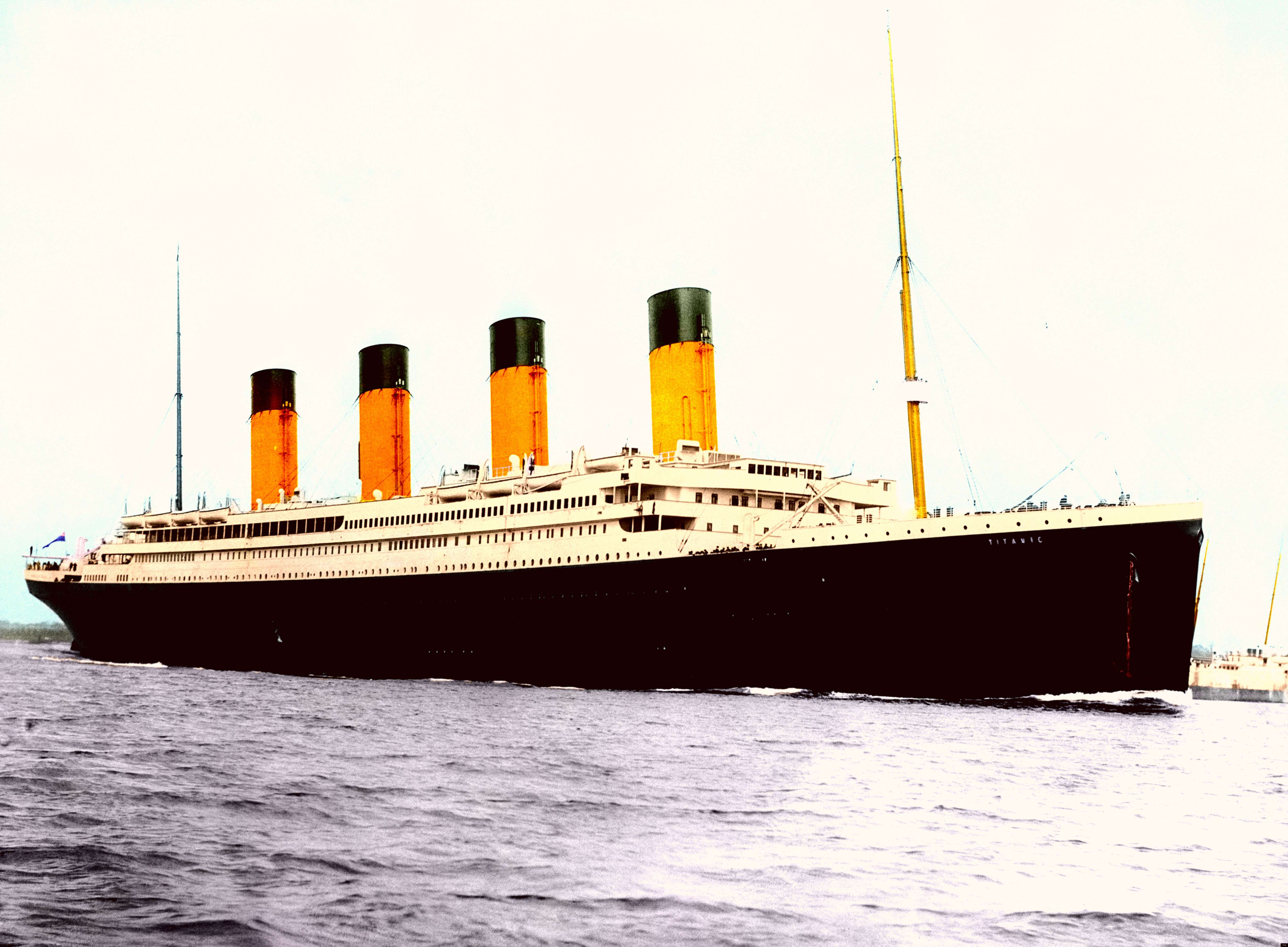 Rms Titanic Tinting History