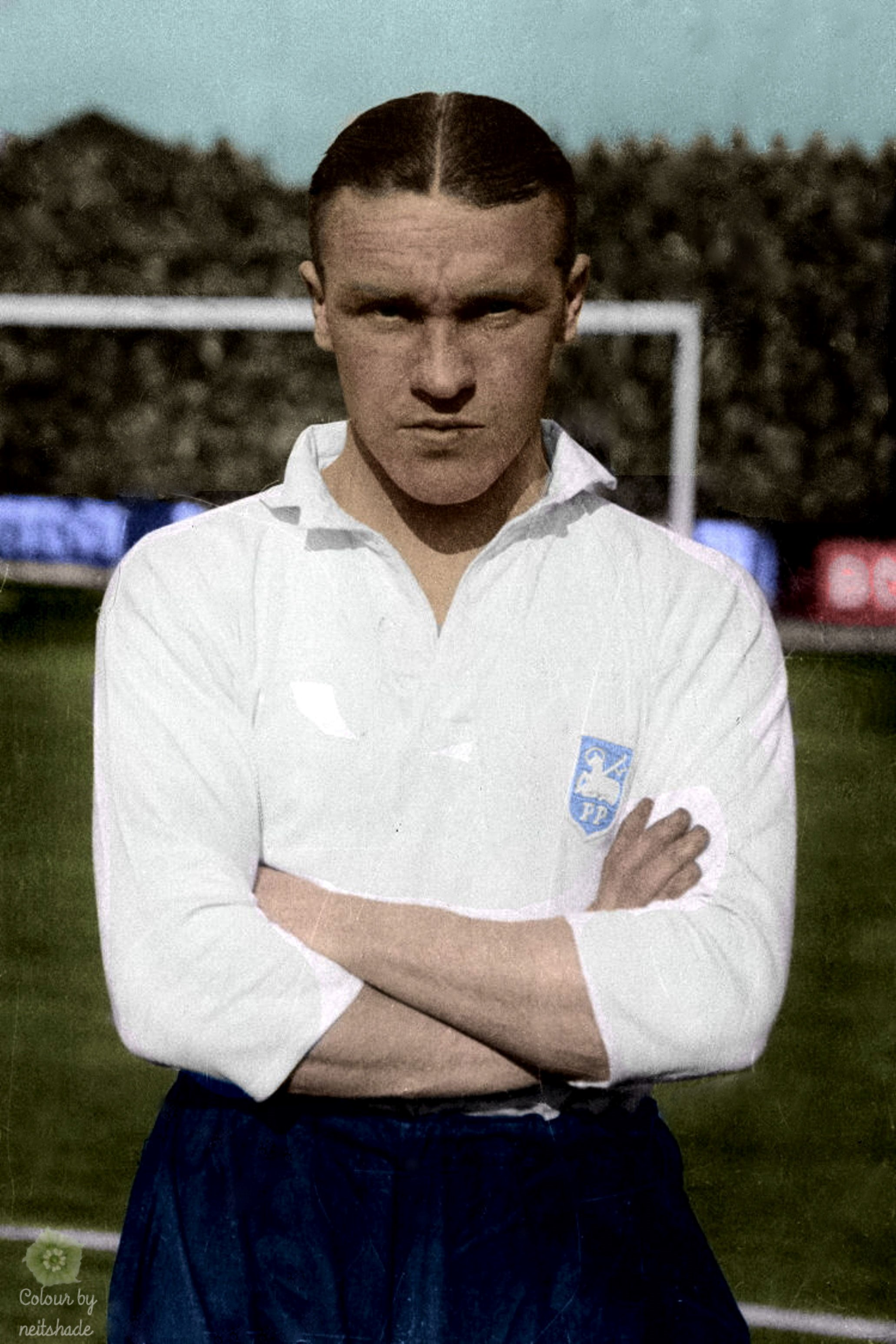 Bill Shankly, as a player for Preston North End in May 1937