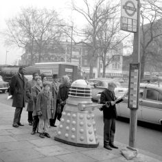 Dalek bus queue