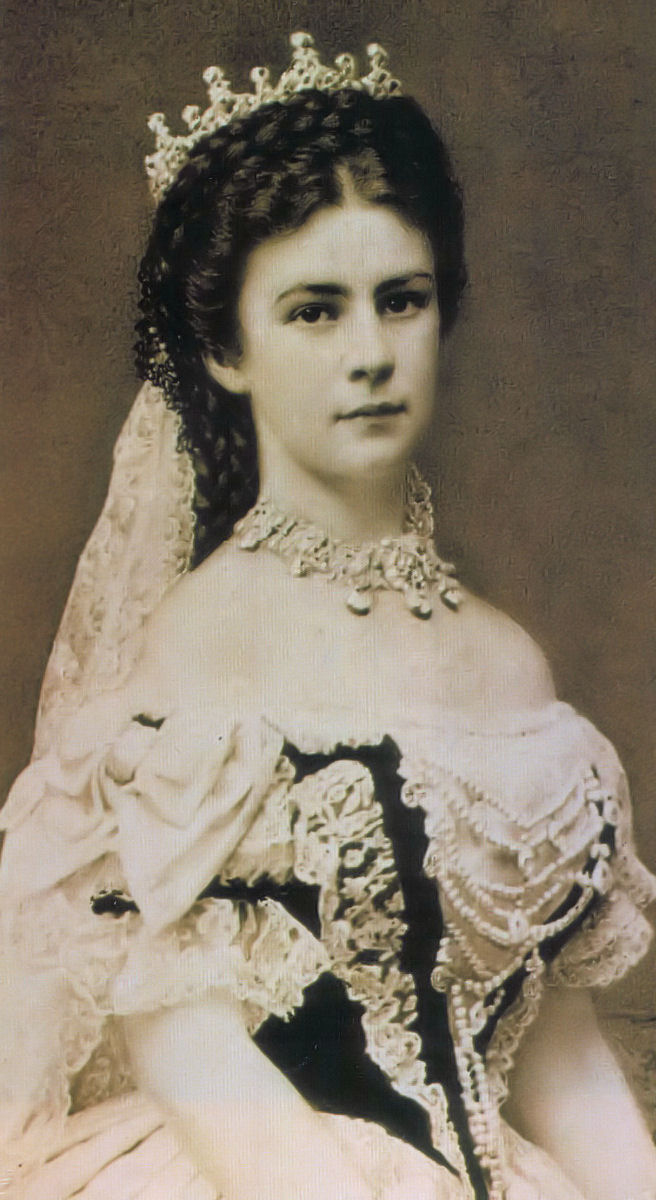 Empress Elisabeth of Austria _1867