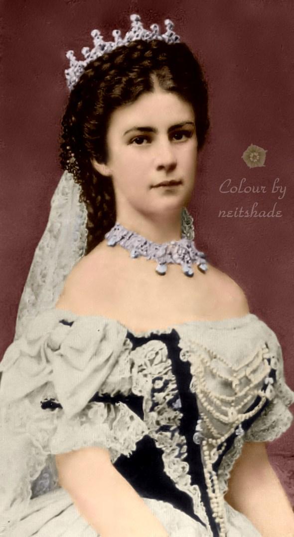 Empress Elisabeth of Austria _1867