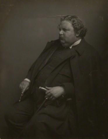 NPG x6021; G.K. Chesterton by James Craig Annan