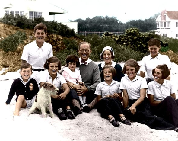 Kennedy Family at Hyannis Port, 04 September 1931