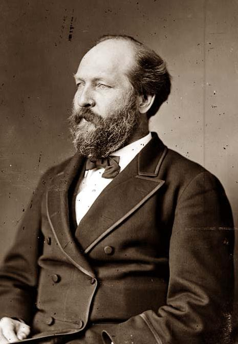 President James Garfield 1870