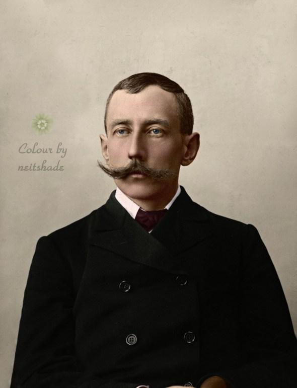 Roald Amundsen, ca 1909