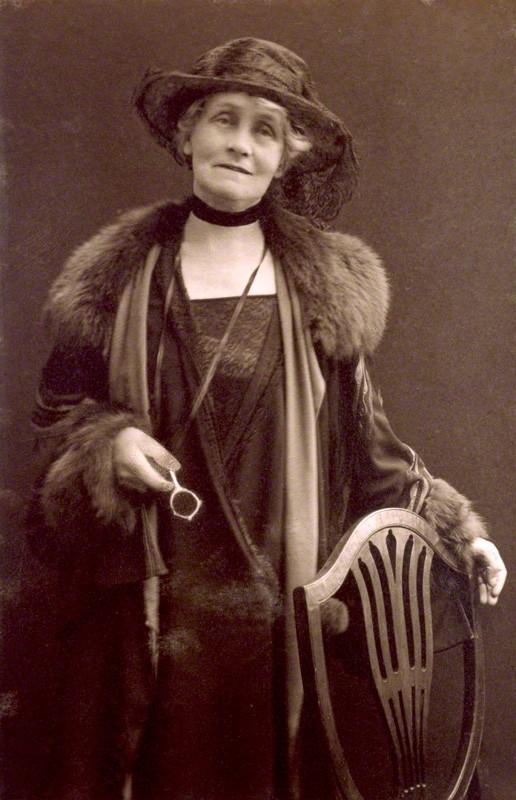 NPG x4332; Emmeline Pankhurst by (Mary) Olive Edis (Mrs Galsworthy)