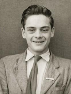 Sir David Jason aged 14 (s)
