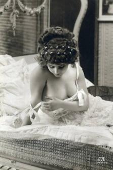 Erotic postcard c1920