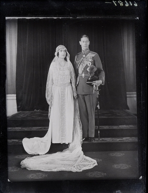 George VI Elizabeth wedding2