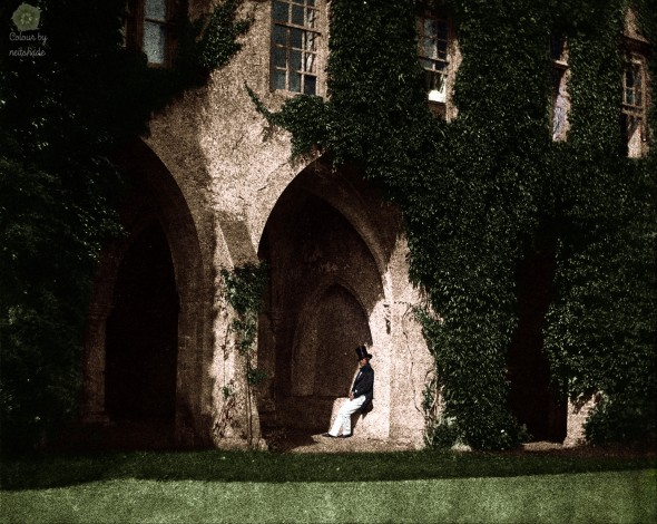 William Henry Fox Talbot - Cloisters of Lacock Abbey