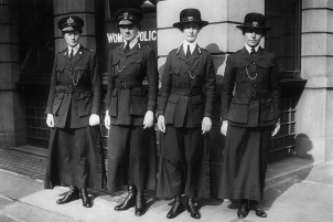 circa 1916 Members of the Women's Police Service