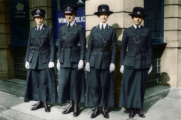 circa 1916 Members of the Women's Police Service_0000