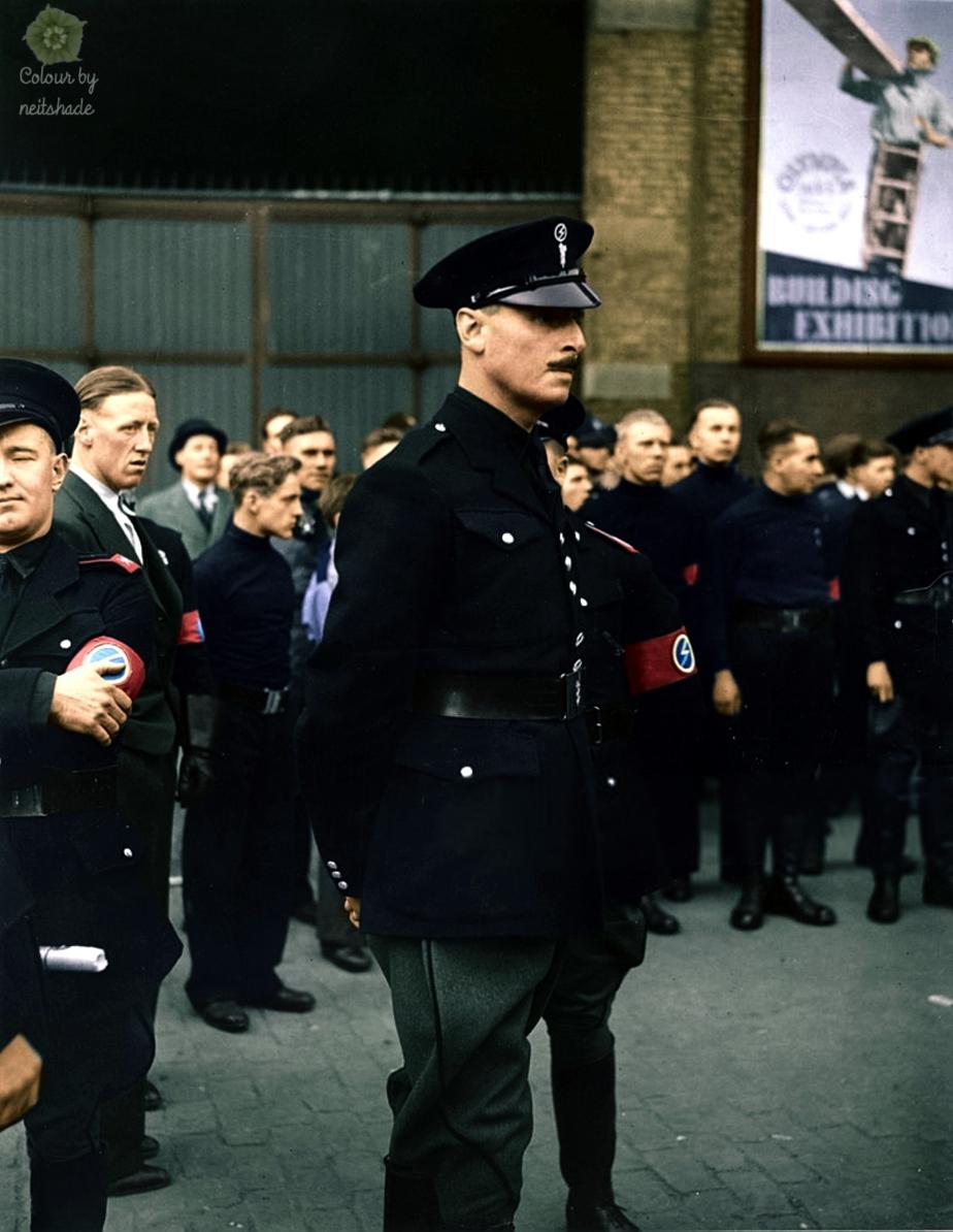 Oswald Mosley 4 October 1936.