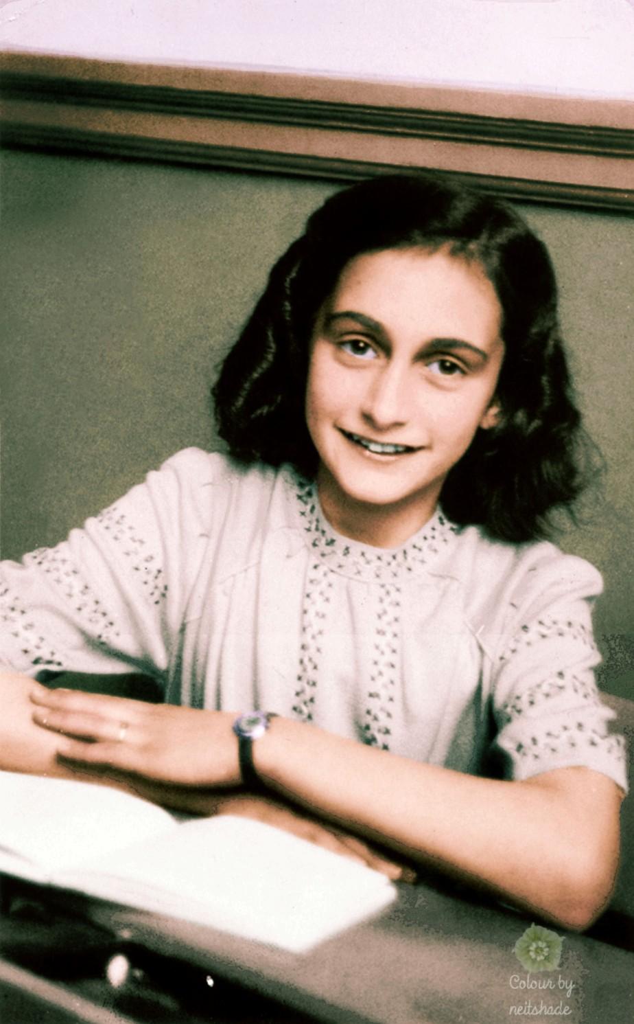 Anne Frank school photo1941