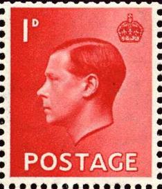 Edward VIII stamp