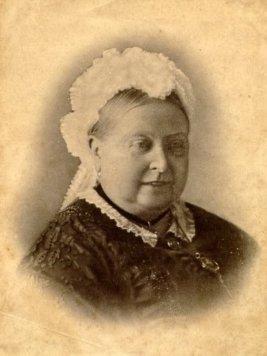 Queen Victoria smiling, 1880s