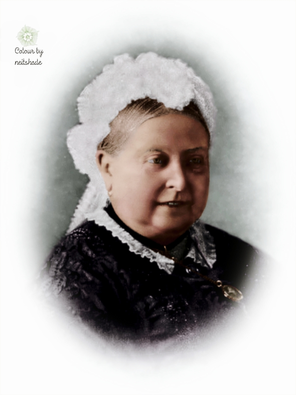 Queen Victoria smiling, 1880s3