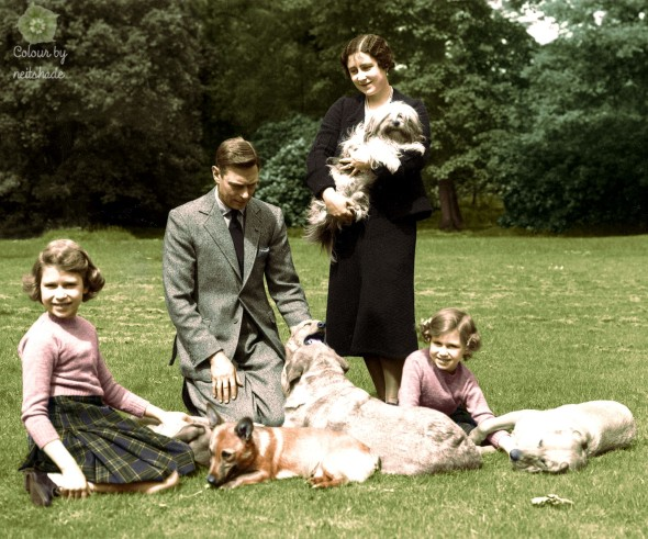 George VI and family