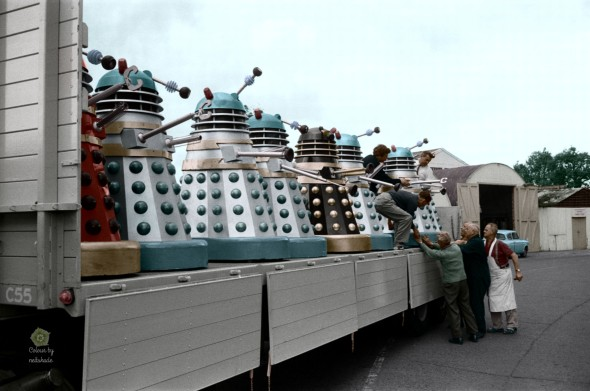 Daleks Going to Cannes May 1965