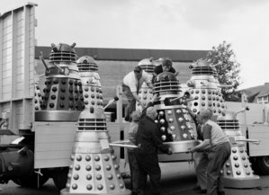 Daleks on way to Cannes May 1965