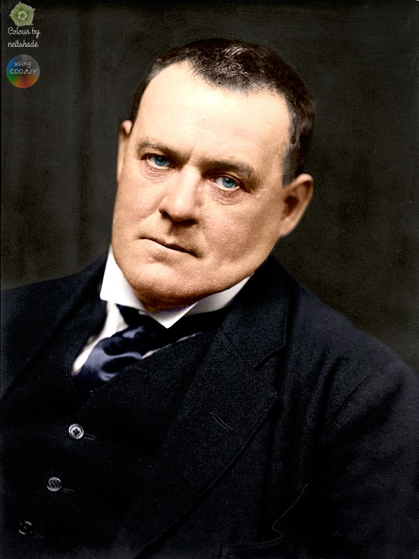 Hilaire Belloc portrait by E